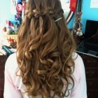 Hairdo for prom night