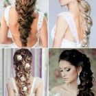 Hairstyle for wedding day