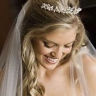 Hairstyles for a bride on her wedding day