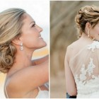 Hairstyles for bride on wedding day