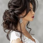 Long bridal hair