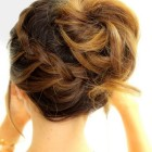Medium hair updo hairstyles