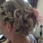 Mid hair up styles