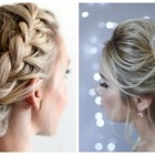 New updo hairstyles 2018
