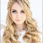 Party updos for long hair