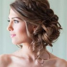 Prom buns for long hair