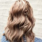 Prom hair for shoulder length hair