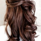 Prom hairstyles for long brown hair