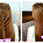 Simple hairstyles for very long hair