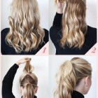 Simple office hairstyles for long hair