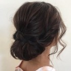 Soft updos for long hair