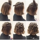 Updos for short length hair