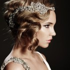 Wedding hair model