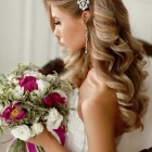 Wedding hairstyle for bride