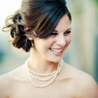 Wedding hairstyles for bridesmaids with medium length hair