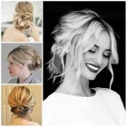Wedding hairstyles for medium length hair updos