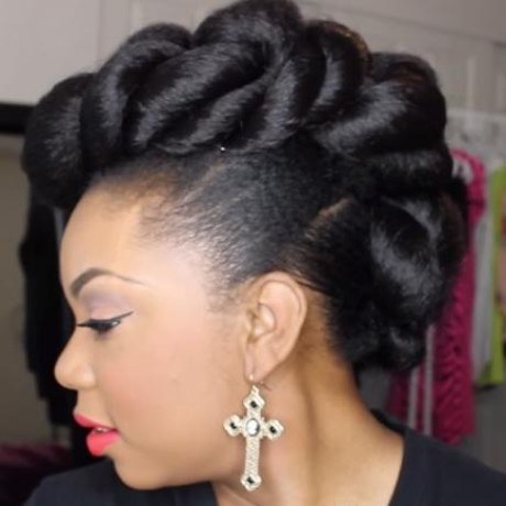 Womens updo hairstyles