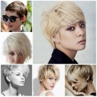 Fashionable short hairstyles for women 2016