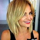 Medium layered haircut 2016
