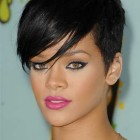 Rihanna short hairstyles 2016