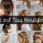 10 simple hairstyles