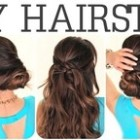 5 minute hairstyles for shoulder length hair