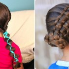 Cute girls hairdos