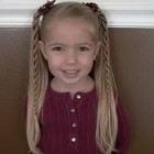 Cute hair for little girl