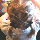 Cute little girl hairstyles for long hair