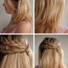 Different and easy hairstyles