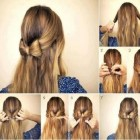 Different easy hairstyles