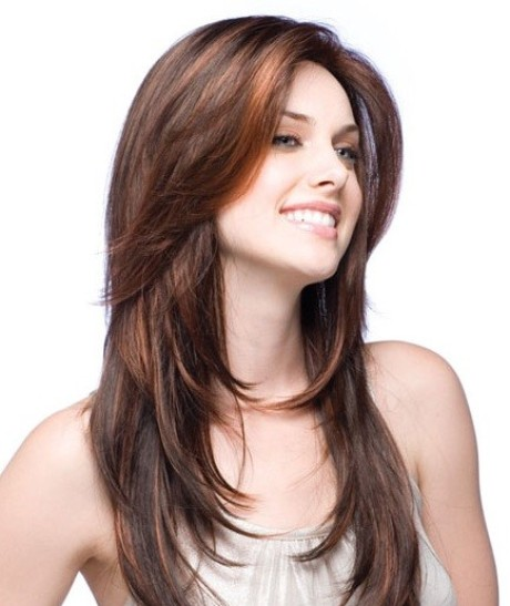 Different style hair cuts