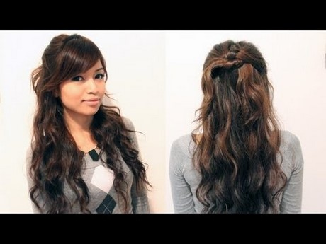 Easy and quick hairstyles for curly hair