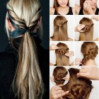 Easy making hairstyles