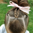 Easy to do hairstyles for little girls