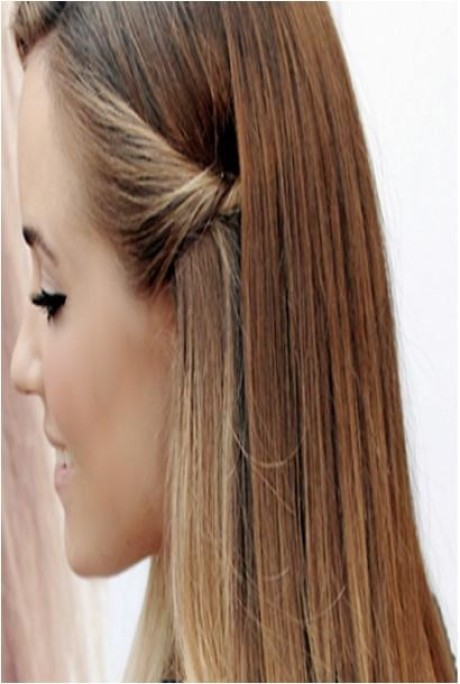 Hairstyles at home for long hair