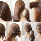 Hairstyles for girls at home
