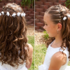 Hairstyles for long hair for little girl