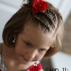Hairstyles for short hair little girl