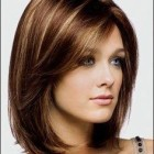 Medium hair style cut