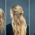 Quick and easy hairdos