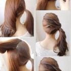 Simple n easy hair style