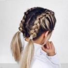 A easy hairstyle