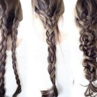 Cool and easy hairstyles for long hair