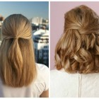 Cool easy hairstyles for medium hair