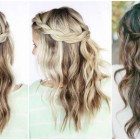Cute hairstyles to do with long hair