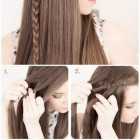 Cute simple hairstyles for long straight hair