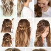 Easiest hairstyles for medium hair