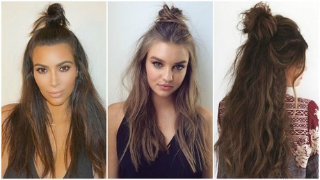 Easy going out hairstyles for long hair