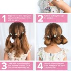 Easy hair up ideas for short hair